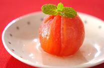 ワイン風味の冷やしトマト
