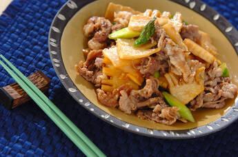 豚肉とタケノコの炒め物