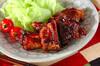 骨付き豚バラ肉の甘辛煮の作り方の手順