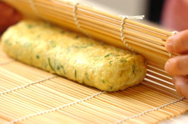 切干し大根入り卵焼きの作り方の手順5