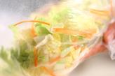 白菜の塩もみの作り方1