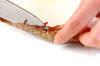 エビの酒塩炒りの作り方の手順1