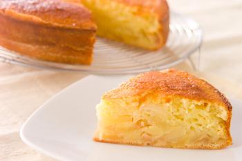 リンゴの簡単ケーキ
