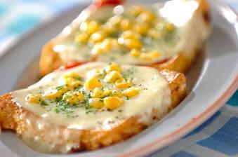 厚揚げのトローリチーズ焼き