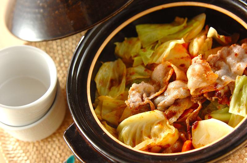 カレー蒸し鍋