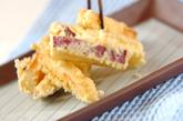 サツマイモの天ぷらの作り方3