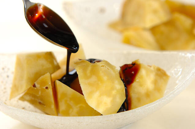 バルサミコソース焼き芋の作り方の手順3