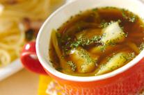 タラと野菜のカレースープ