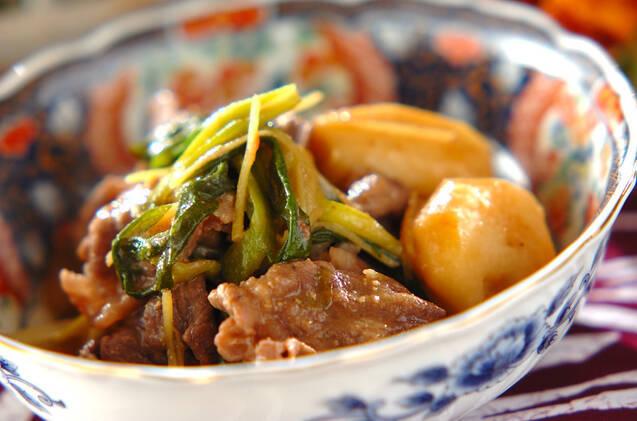 牛肉と里芋の味噌煮