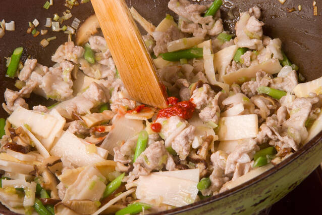春雨の中華風炒め物の作り方の手順10