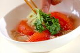 トマトとツナの煮物の作り方3