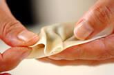 白菜たっぷりの焼き餃子の作り方5