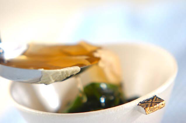 湯葉のお吸い物の作り方の手順3