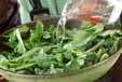 ナバナの塩炒めの作り方2