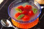 プチトマトのゼリー