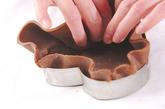 フランボワーズチョコタルトの作り方4