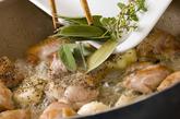 鶏肉ニンニクとろとろソースの作り方3
