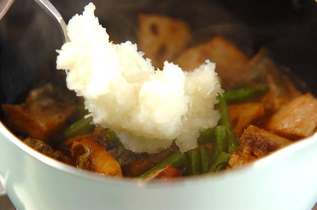揚げサバのおろし煮の作り方の手順8