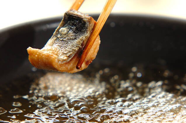 揚げサバのおろし煮の作り方の手順6