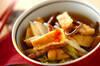 白菜とゼンマイの煮浸し