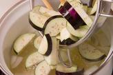 ナスとなめこのみそ汁の作り方1
