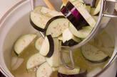 ナスとなめこのみそ汁の作り方4