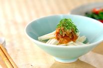大和芋の梅ダレ