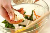 菜の花と豆腐のゴマ和えの作り方5