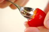 トマトとミツバのサラダの作り方1