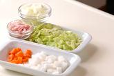 ジャガイモの豆乳スープの下準備2
