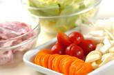 鶏肉のコラーゲントマト煮込みの作り方1