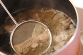 白みその豚汁の作り方1