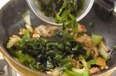 ワカメの炒め物の作り方8