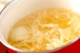 焼き豆腐のみそ汁の作り方3