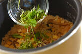 シメジとジャコの炊き込みご飯の作り方3