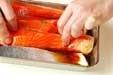 鮭の木の芽焼きの下準備2