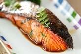 鮭の木の芽焼き