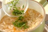 モヤシとニンジンのみそ汁の作り方2