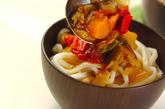 和風たっぷりナスカレーうどんの作り方5