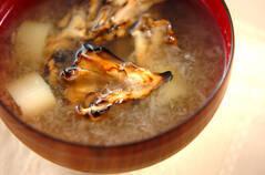 焼きマイタケのおろし汁