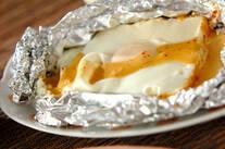 厚揚げの卵焼き