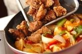 酢豚の作り方4
