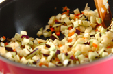 ジャージャー風素麺の作り方1