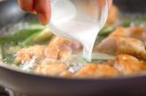 鶏肉とオクラ炒めの作り方3
