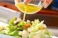 レタスとチーズのサラダの作り方1