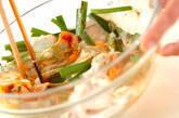 キムチ餅お好み焼きの作り方6