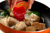 シューマイのチリ炒めの作り方2
