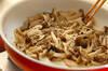 これだけで味が決まる!たっぷりキノコの常備菜の作り方の手順3