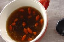 ショウガの温スープ