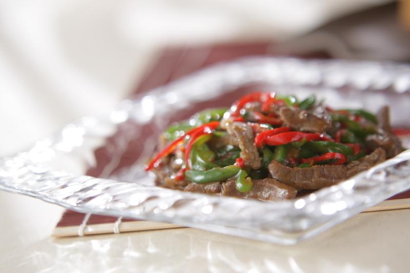 青椒肉絲の料理写真